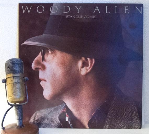 Woody Allen Vinyl Record Album 1960s Comedy Comedian