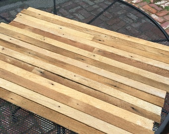 reclaimed lath boards salvage wood for craft projects