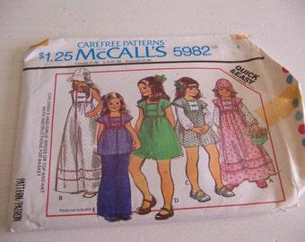 mccalls 5982 size 4 pattern