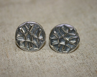 Silver Cuff Links, Men's Jewelry ,Handmade Silver Cuff Links , Men's Cuff Links, Statement Cuff Links, Solid Silver Cuff Links,