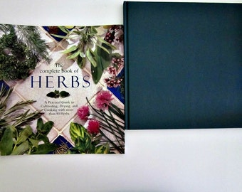 Vintage The Complete Book of Herbs, Practical Guide to Cultivating, Drying, Cooking with more than 50 Herbs - Collectable - Using Herbs