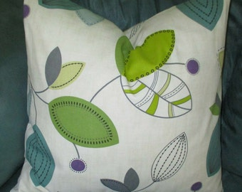 Calder Leaves 12  Sizes, Your Choice Size-Throw Pillow-Pillow Cover