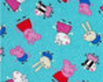 Peppa Pig Bean Bag Cover, Snort, George, Muddy Puddles, Boots, Blue, Pink, Red, Cartoon, animals   - Etsy Kids,  Gift Under 75