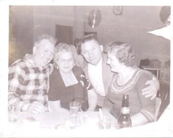 Vintage Photograph - A Night Out - Vintage Photo, Vernacular, Found Photo, Ephemera (C)