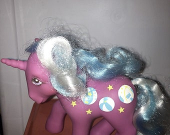 vintage 1985 Hasbro made in China conclave foot Beach Balls my little pony unicorn pony RAD