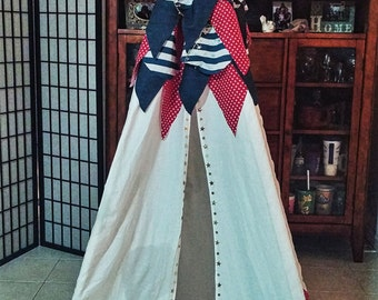 Red, White, & Blue Teepee