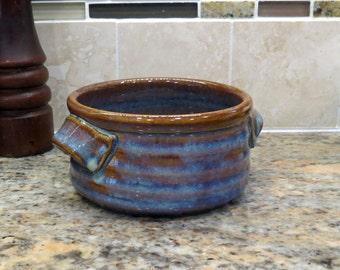 Pottery Bowl  for Soup, Icecream, snacks, Brie etc. in Opal Glaze