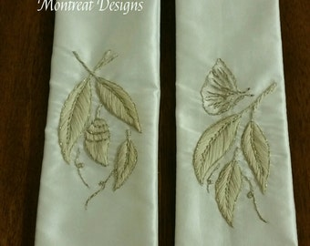 Transformation: Pair of Bookmark Paraments Made to Order