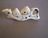 vintage JESTER LUCITE Pin  FREE Domestic Shipping