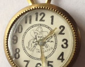 Vintage Tin Toy Watch Cowboy Western