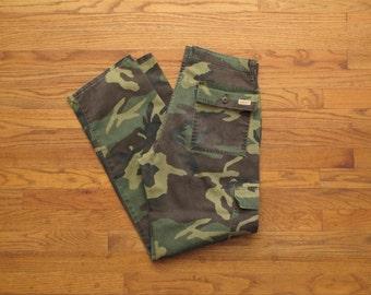 vintage DeeCee woodland camo cargo pants