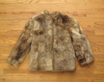 vintage beaver fur coat