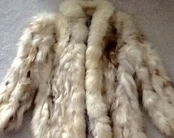 Vintage fox jacket
