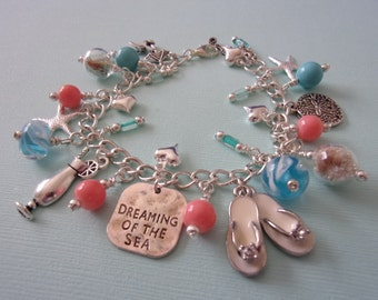 RESERVED  for Melody Custom Charm Bracelet