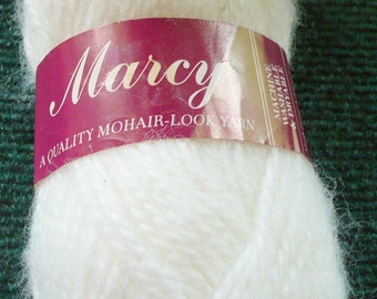 1 - Lion Brand - Marcy - Mohair Look Yarn - 1  Oz. -Color 100