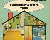 Vintage Craft Pattern Booklet - Furnishing with Yarn PATONS Book 409 - wonderful patterns for knit and crochet home décor – Retro Designs