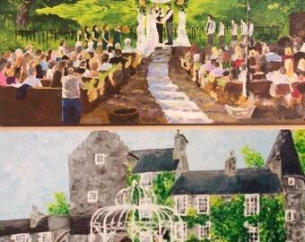 Wedding / event painting