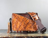Medium - PRE-ORDER - Leather Camera Bag New Satchel  - Distressed brown Darby Unisex Mens Mahogany Leather Medium DSLR