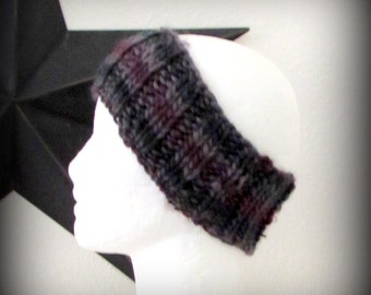 headband - knit headband - hand knit headband - hand made headband - ear warmer - knit ear warmer - Merino wool knit headband - Merino wool