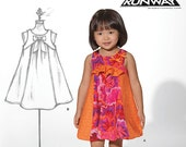 New Look Workroom from Project Runway 6115, Infant to Toddlers' Flared or Bubble dress. Out of Print