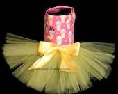 Sample Sale - Dog Dress - Dog Tutu Dress - Ice Cream Cones - Small