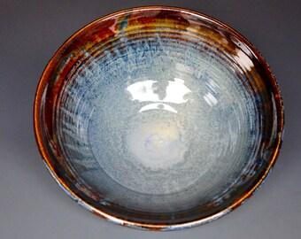 Salad Bowl Pottery Ceramic Fruit Bowl Handmade  A