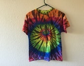 Adult small tie dyed t-shirt