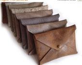 Summer SALE, Men's wallets, Business Card Leather Holder, Envelope Card Case, small wallet, leather card holder credit card case, gift for h