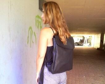 25% OFF, Black Backpack, Laptop bag, Women/men Backpack
