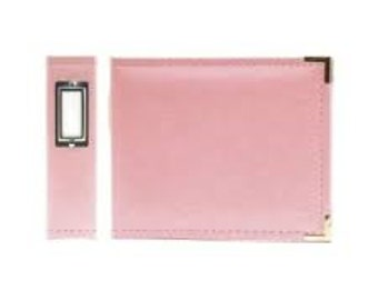 We R Memory Keepers Pretty Pink 6x6 Leather Album 30893-5