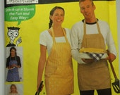 Simplicity Sewing for Dummies Apron Bib Mens Womens Misses Unisex Easy  Uncut Sewing Pattern