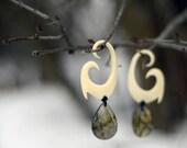 "HEI MATAU Organic Gauge Earrings Plugs Weights for Stretched Piercings 4g 2g 0g 00g 10mm 1/2"" *CUSTOM*"
