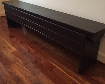 6 foot Narrow Trunk / 6 foot Bench with Storage