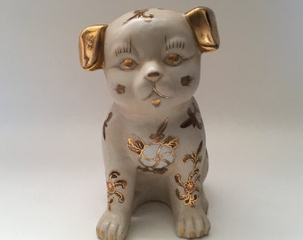 Chinese Fu Dog Statue Figure Porcelain