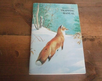 Pennsylvania Trapping Manual 1979 Ned Smith Illustrations