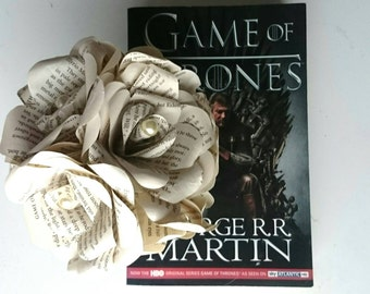 Game of Thrones Inspired Forever Paper Roses - Unique Geek Inspired Flowers