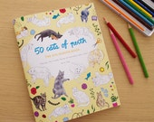 50 Cats of Perth: The Colouring Book