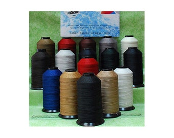 T70 V 69 Bonded Nylon Sewing Thread  for Outdoor, Leather, Bag, Shoes, Canvas, Upholstery 1500 YDS