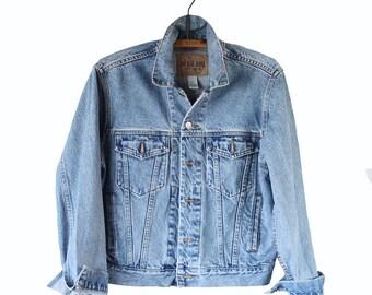 Perfect 90s Jean Jacket / Denim Jacket