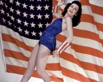 Happy 4th, Pin-Up digital download photo collection