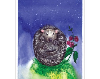 Hedgehog. Art by Oleksandra Petrovska.