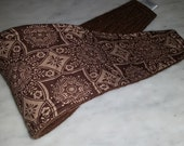 Male Dog Belly Bands Waist 14.25 x 4.25 Fits 12.25 to 16.25 inches Wraps by Sew Dog Diapers Quilted Padded Belt BellyBand #10 BROWN