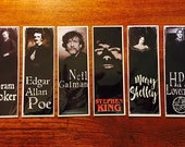 Handmade Bookmarks Gothic Author Series