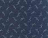 Snowbird by Laundry Basket Quilts - Frozen in Time in Cold Blue (42170-19) - Moda - 1 Yard