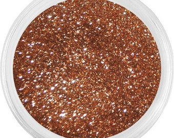 Sparkling Bronze - Limited Edition - Natural Sparkling Glitter - For Eyes Lips Face Nails and Body