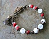 Winter Snowberries Bracelet