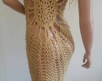 On sale. Crochet  cardigan , unique hand made.
