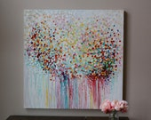 multi color,colorful abstract painting  Abstract art,Original Fine Art Acrylic, Artwork original painting  room deco