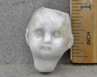 Vintage Antique Excavated Victorian Porcelain German Doll Head