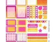 Monthly Planner Stickers - Tropical Bliss Sampler 1 Planner Labels - Fits Erin Condren Life Planner - MP4883503149119